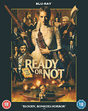 Ready or Not [2019] (Blu-ray) Samara Weaving,Adam Brody,Mark O'Brien