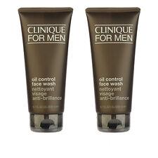 2 X Clinique Clinique for Men Oil Control Face Wash 6.7oz,200ml Cleanser #9237_2