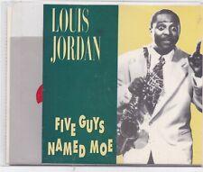 Louis Jordan-Five Guys Named Moe cd album