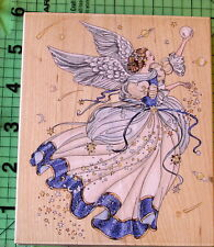 Laine Gorden Angel of Harmony #90232 rubber stamp by Stamps Happen