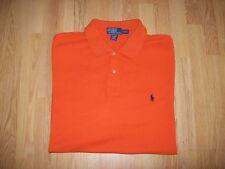 "Homme orange RALPH LAUREN Polo Shirt Top-XL Tall/52"" Tour De Poitrine"
