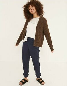 Fat Face Suzie Cardigan Brown Caramel Size UK 10 New With Tags