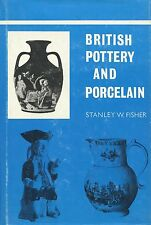 Antique British Pottery Porcelain - History Types Makers / Scarce Book