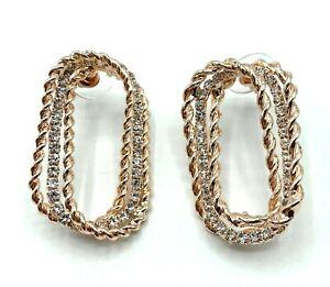 Ladies Crystal Stud Earrings Fashion Jewellery Accessories Womens Earrings