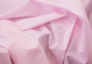 Pale Pink Baby Pink Plain Polycotton Fabric 114 cm width free p&p Poplin Fabric