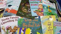 Children's Bedtime Books - LOT OF 20 - Story time Sets - Paperback Hardcover