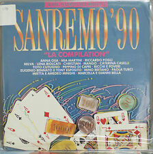 V.V.A.A. / SANREMO '90 - LP (CBS COMPILATION)   LP N. 628