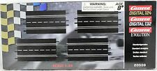 CARRERA 20509 STRAIGHT TRACK NEW IN PACKAGE 1/24 1/32 SLOT CAR TRACK 4 PIECES