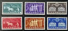 LUXEMBOURG timbres/Stamps Yvert et Tellier n°443 à 448 n** (bien protégés)(cyn8)