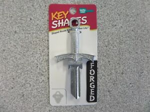 LUCKY LINE B301S SWORD SCHLAGE SC1 KEYWAY HOUSE KEY FORGED KEY SHAPES