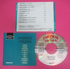 CD Compilation Ragazzi Italiani STEVE ROGERS BAND LUCIO DALLA RON no lp mc(C44)