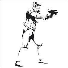 Star Wars Storm Trooper wall art Sticker 55x34cm 22x14 Inch Matt Vinyl Transfer