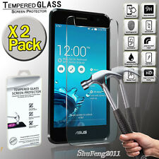 2 Pack For Asus PadFone X mini Genuine Tempered Glass Film Screen Protector