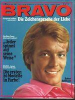 BRAVO Nr.26 vom 24.6.1968 Bee Gees, Uschi Glas, John Wayne, Marianne Koch - TOP