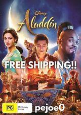 Aladdin DVD Will Smith Reg 4 FREE POST! (2019) New!