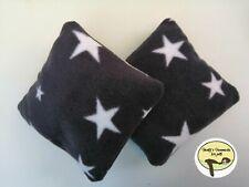 "2x Cosy  snuggle cushions / toys (6""x6"") for Ferret,chinchilla,small pet. Etc"