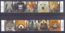Engeland 2011 WNF/WWF dieren  10w samenhangend   postfris/mnh