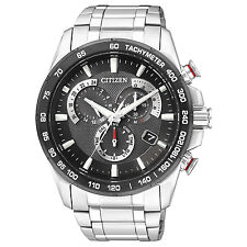 Citizen Solor Power Radio-Controlled Titanium Men's Watch AS8024-50E