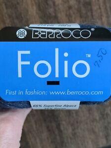 Berroco Folio yarn. Color 4548. NEW. 1.75 oz