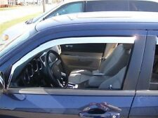 Chrome Trim Window Visors Fits 2011-2014 Chrysler 300, 300C, & 300M (Set of 4)