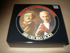 SOLTI / WAGNER gotterdammerung ( classical ) cd box set