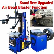 A1.5 HP Automatic Tire Changer Wheel Changers Machine Rim Balancer Combo 960 680
