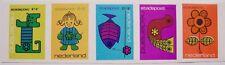 Stadspost Leeuwarden 1972 - Strip Kinderzegels ongetand