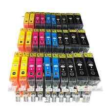 30x tinte für Canon PIXMA IP4850 4950 MG5150 MG5250 MG5300 MG8150 MX885 mit CHIP
