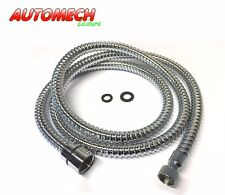 "High Quality Chrome Plated Caravan Motorhome Shower Flexible Hose  ½"" to ⅜"" BSP"
