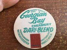 Georgian Bay Creamery Milk Bottle Cap - Parry Sound, Ontario, Canada DARI BLEND