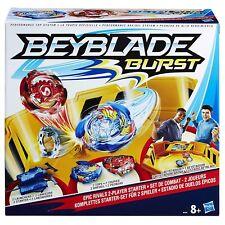 Beyblade Burst - Set de Combat pour 2 Joueurs 2 toupies + 2 lanceur