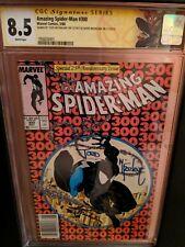 amazing spider-man 300 cgc 8.5 ss 2x mcfarlane michelinie
