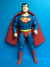 VINTAGE KENNER/TOYBIZ ACCESSORY-SUPERMAN'S RED REPRO CAPE WITH NECK RING..
