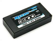 Reedy LiPo 3900mAh 70C 7.4V LP Shorty Battery - ASC319