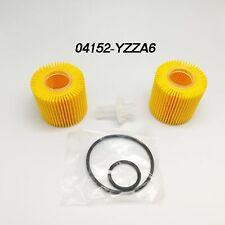 2 Set 04152-YZZA6 For Toyota  Oil Filter Prius Prius V Corolla Scion IM XD