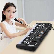61 Key Electronic Music Keyboard Piano Organ Instrument w/Mic.