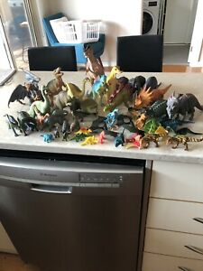 Toy Dinosaurs- Over 40 Pcs