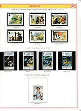 s35021 JERSEY 1991 MNH Complete year set Annata completa 2 scans