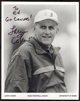 Larry Coker Signed 8x10 Photo College NCAA Football Coach Autograph Miami