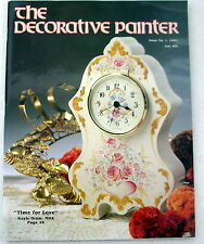 The Decorative Painter Issue 1 1991 Tole painting patterns instructions