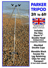 """SEA TRIPOD 3ft to 6ft Storm""""V"""" version. Made in Britain by Craig Parker"""