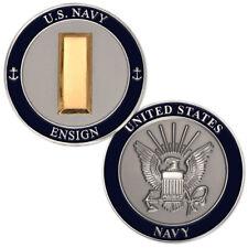 NEW U.S. Navy Ensign Challenge Coin.