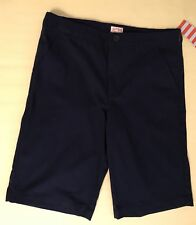 New Boys Spring Summer Shorts Size 14P Dark Blue Cat and Jack Adjustable Waist