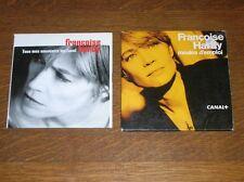 LOT 2 CD PROMO / FRANCOISE HARDY / MODES D'EMPLOI + TOUT MES SOUVENIRS ME TUENT