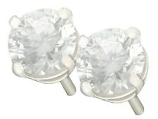 1.43ct Diamond and Platinum Stud Earrings