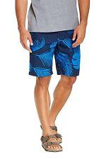 ORIGINAL PENGUIN Floral Print Slim Fit Cotton Shorts in Dress Blue Sz.33 NWT $79
