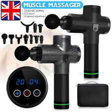 32 Speed LCD Percussion Massage Gun Massager Muscle Therapy Deep Tissue Theragun
