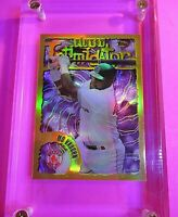 1996 Topps Finest Intimidators Rare GOLD REFRACTOR #64 Mo Vaughn MINT Red Sox.