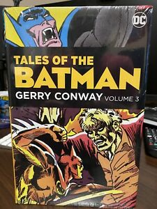 Tales of the Batman Gerry Conway Volume 3 Hardcover HC OOP Rare SEALED