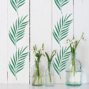 Palm Leaf Stencil - Reusable Craft Size Palm Frond Stencil - CraftStar